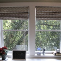 DIY: Roman Shades From Mini-Blinds