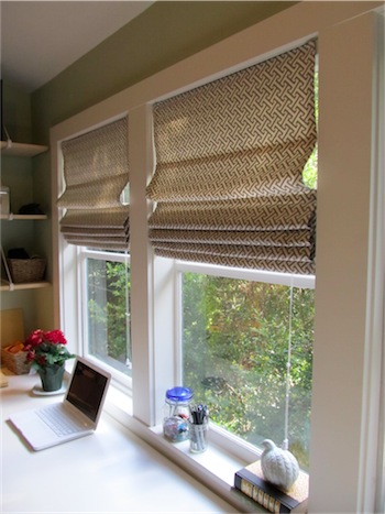 Diy roman shades from mini blinds simply mrs edwards ive solutioingenieria Images