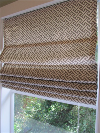 DIY: Roman Shades From Mini-Blinds | Simply Mrs. Edwards