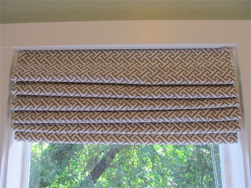 Diy roman shades from mini blinds simply mrs edwards that solutioingenieria Image collections